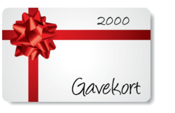 Gift Certificate 2000
