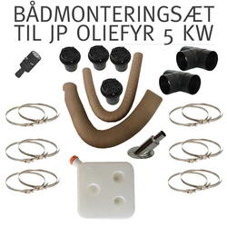 Boat Mounting Kit for JP 5KW OILFYR incl. tank
